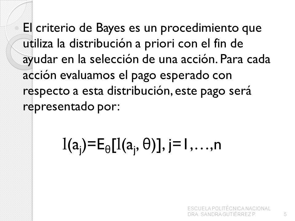 l(aj)=Eθ[l(aj, θ)], j=1,…,n